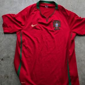 Nike Portugal men's red jersey fifa World Cup